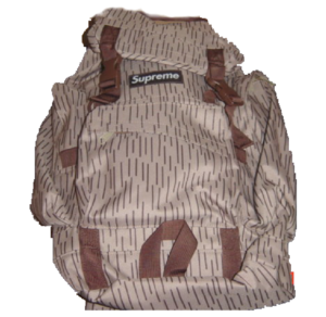 S/S 2003 Supreme Backpacks (Raindrop Camo) tan