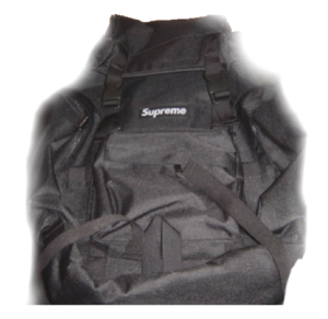 S/S 2003 Supreme Backpacks (Raindrop Camo) black