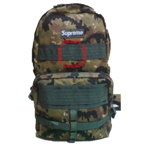 F/W 2003 Supreme Backpacks Dark Camo