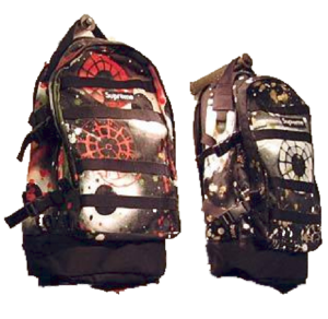 S/S 2004 Supreme Backpack Supreme Rammellzee Backpacks