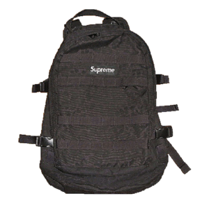 S/S 2004 Supreme Backpacks Black