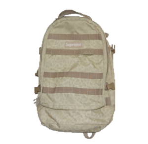 S/S 2004 Supreme Backpack Tan