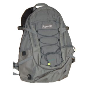 S/S 2005 Supreme Backpack Grey