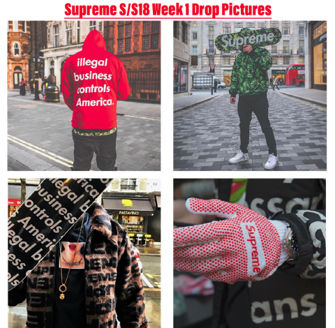c6fca696 Supreme Spring/Summer 2018 Week 1 Drop Pictures - Don't Take The L