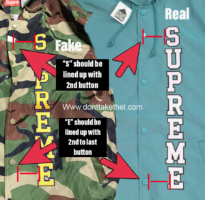 Supreme Vertical Logo Hooded Coaches Jacket Legit Check Guide Real vs Fake