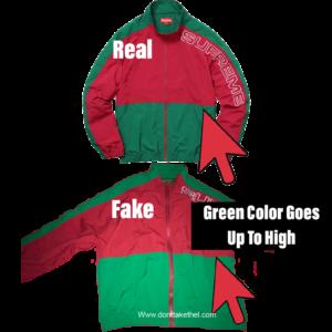 Supreme Split Track Jacket Legit Check Guide