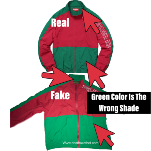Supreme Split Track Jacket Real vs Fake
