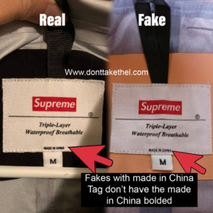 Supreme Taped Seam Jacket Legit Check Guide