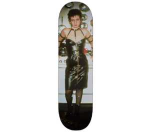 2018 - Supreme Nan as a Dominatrix Skateboard Deck