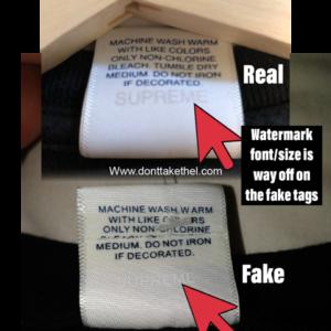 Supreme Swirl Tee Legit Check Guide! - Don't Take The L