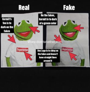 568a4ed8b26c Supreme Kermit Shirt Legit Check Guide - Don't Take The L
