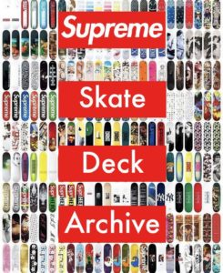 Supreme Skateboard Deck Archive