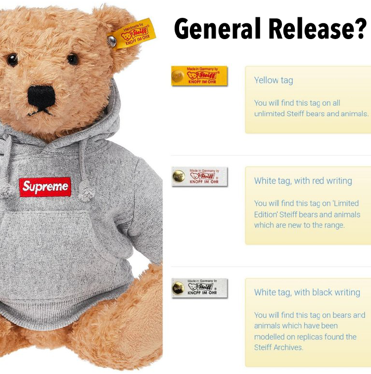 The Supreme Steiff Bear May Not Be As Limited As Expected!