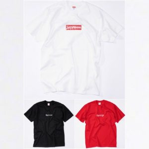 Supreme 25th Anniversary Swarovski Box Logo T-shirts